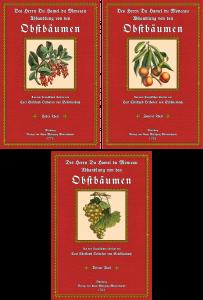 """Abhandlung von den Obstbäumen – Band 1-3 (""""Kleinformat"""")"""