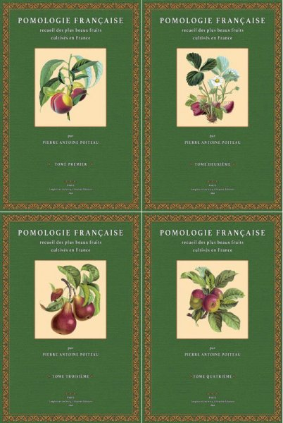 Pomologie Francaise – Tome 1-4